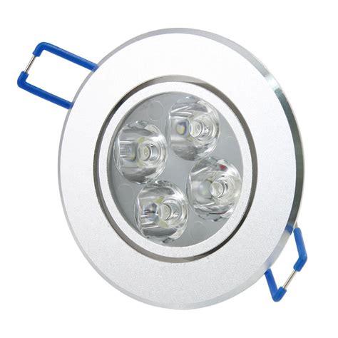 1pcs recessed led ceiling downlight spotlight l bulb