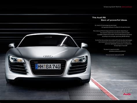 audi advertisement audi r8 ad driverlayer search engine