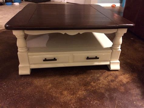 Bassett Coffee Table Revived With Annie Sloan Vintage Stain Coffee Table