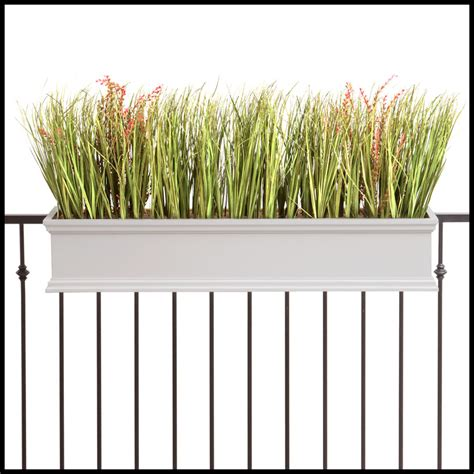 Balcony Planter Box Deck Rail Planter Boxes Planters For Railings Hooks
