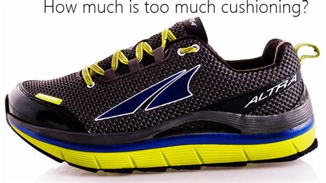 low heel drop running shoes thick cushioned low heel to toe drop running shoes no