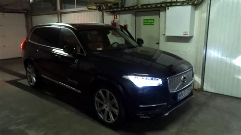 volvo xc90 light 2016 volvo xc90 t6 t5 d5 led lights parking manouvre