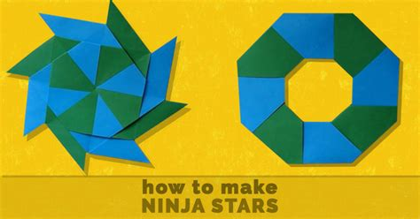 How To Make A Paper Ninga - made out of paper easy crafts