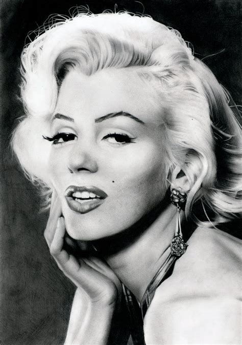 monroe s marilyn monroe s portrait by stanbos on deviantart