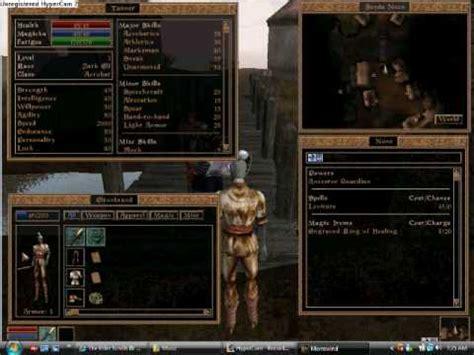 morrowind console commands console cheats in morrowind the elder scrolls iii