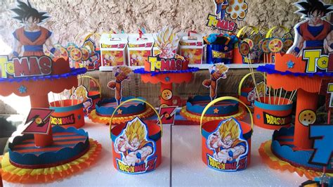 decoracion con esferas de dragon ball z decoraci 243 n de fiestas infantiles dragon ball z imagui