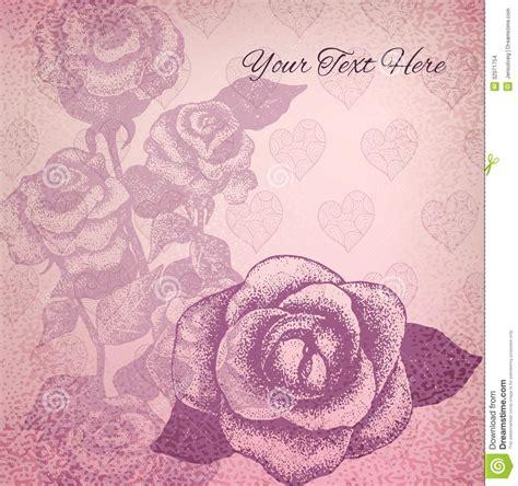 imagenes vintage en rosa fondo del vintage con los dibujos color de rosa en