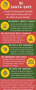 decorating safety tips infographic 5 simple tips for safe decorating