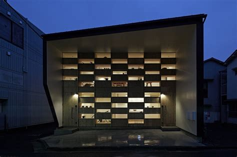 Architectural Style Of Home small japanese home exhibiting an intriguing wooden facade