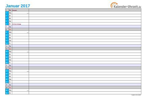 Kalender 2017 Kostenfrei Kalender 2017 Mit Feiertagen