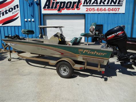 fishing boats for sale huntsville al fisher new and used boats for sale in alabama