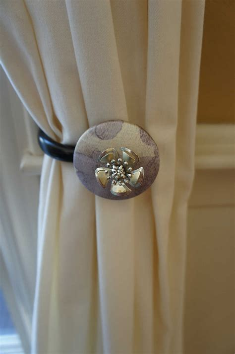 drape tie backs curtain tie backs tiebacks drapery tie back by upscaledownhome