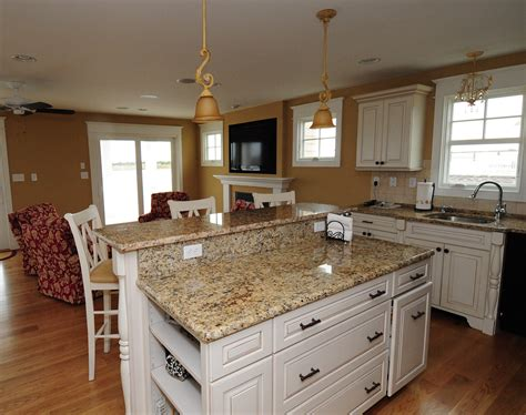 kitchen cabinets with granite countertops santa cecilia granite granite countertops
