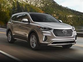 Hyundai Santa Fe Suv New 2017 Hyundai Santa Fe Price Photos Reviews Safety