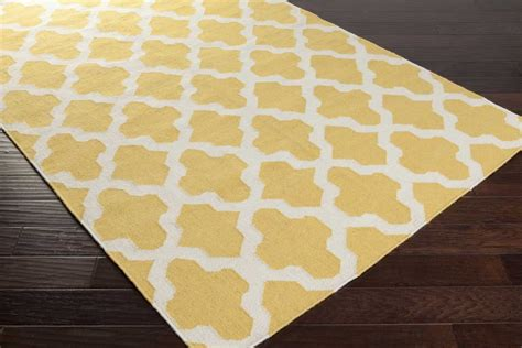 Yellow And White Rugs by Artistic Weavers York Awhd1010 Yellow White Area Rug