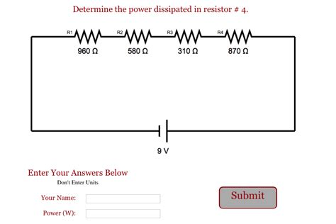 two resistors in series mastering physics power rating of a resistor mastering physics 28 images power dissipation resistors in series