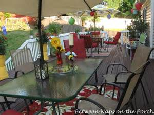how to decorate a deck for a wedding decorate your deck for summer and cookouts