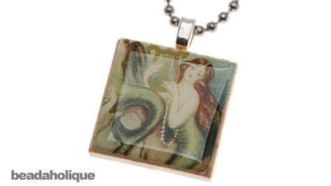 how to make scrabble tile jewelry how to make a quot scrabble quot tile pendant