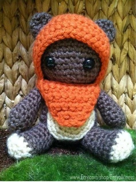 amigurumi ewok pattern free crochet wicket the ewok star wars amigurumi so cute