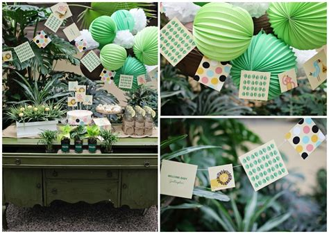jungle theme baby shower table decorations baby shower decorations archives pear tree greetings