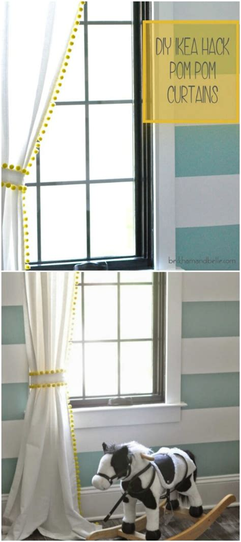 ikea curtain hacks 20 and easy diy curtain ideas to dress up your