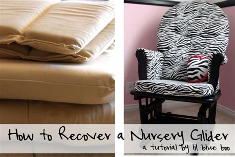 How To Recover Cushions by Diy Reupholster Rocking Chair Cushion Chairs Model