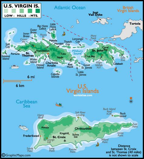 st vi map us islands caribbean