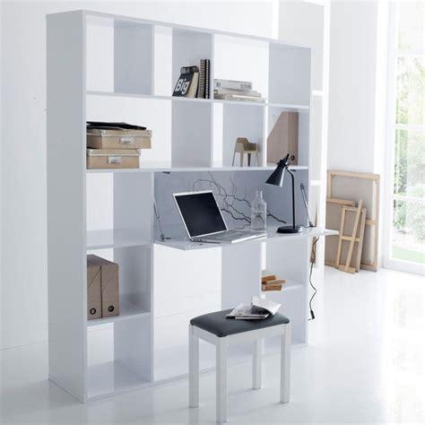 bureau biblioth鑷ue design bureau biblioth 232 que newark blanc la redoute interieurs