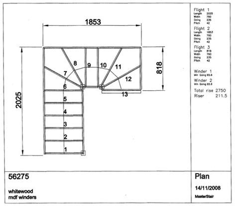 stair plan details plans cad drawing for staircase and joinery work