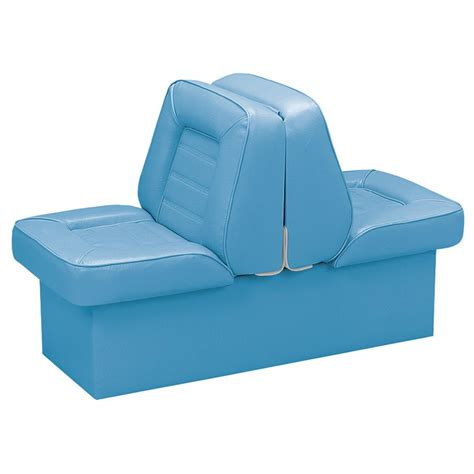 wise boat seat base wise 174 deluxe boat lounge seat with 10 quot base 610376