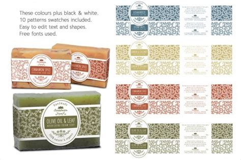 Free Editable Printable Soap Labels Journalingsage Com Soap Wrap Template