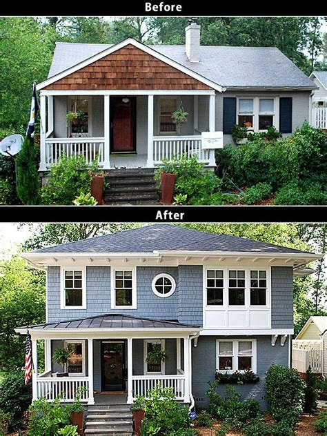 before and after homes 25 best ideas about second story addition on pinterest