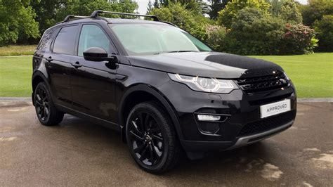 land rover discovery sport black used land rover discovery sport 2 0 td4 180 hse black 5dr