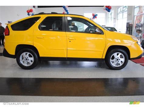 pontiac aztek yellow aztec yellow 2002 pontiac aztek standard aztek model