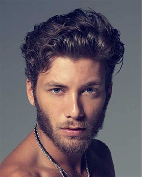 guys hairstyles with curly hair 25 wavy hairstyles men mens hairstyles 2018