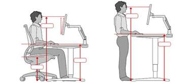 What Is Standard Computer Desk Height Ergonomic Office Desk Chair And Keyboard Height Calculator