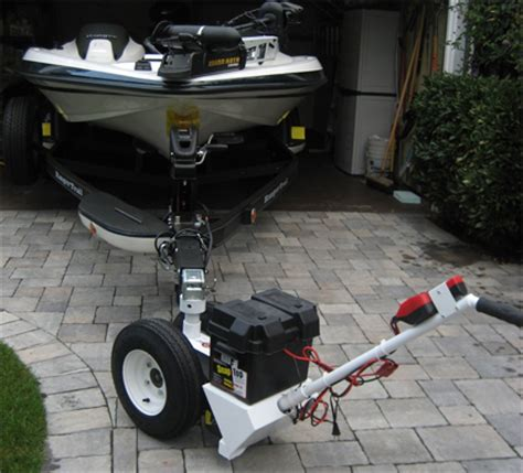travel trailer dolly 2500 lbs electric powered rv trailer dolly