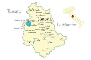 Perugia Italy Map by Umbria Cities Travel Map In Italy