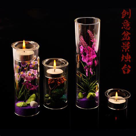 kerzenhalter glas hochzeit kaufen gro 223 handel hochzeit zylinder vasen aus china