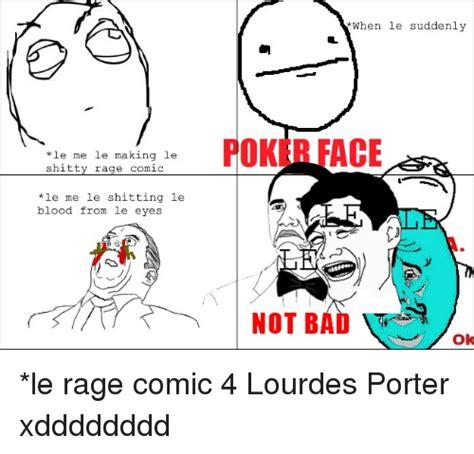 Meme And Rage - e me le making le shitty rage comic le me le hitting le