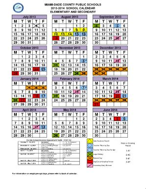 dade schools calendar 2017 calendar 2017