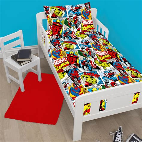 avengers toddler bed set official avengers marvel comics bedding bedroom