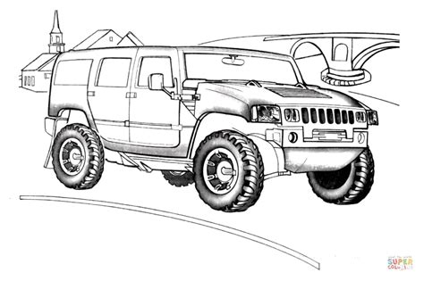 army hummer coloring pages hummer h2 coloring page free printable coloring pages