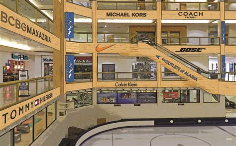 fairbanks alaska shopping malls mall dimond center ghostly world