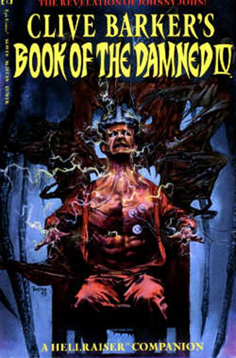 clive barker s hellraiser omnibus vol 1 books clive barker bibliography comics book of the damned iv