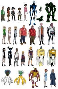ben 10 omniverse ben 23 aliens ben 10 characters