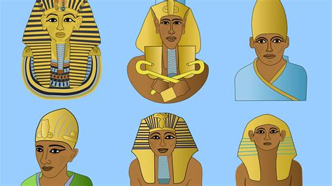 imagenes coronas egipcias las distintas coronas de los faraones egipcios