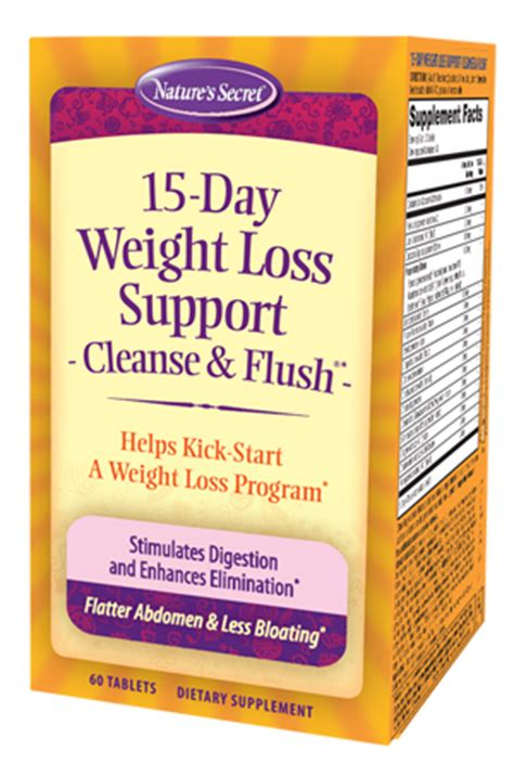 Cleanse 15 Day Detox Nz by 15 Day Weight Loss Cleanse Flush Nature S Secret