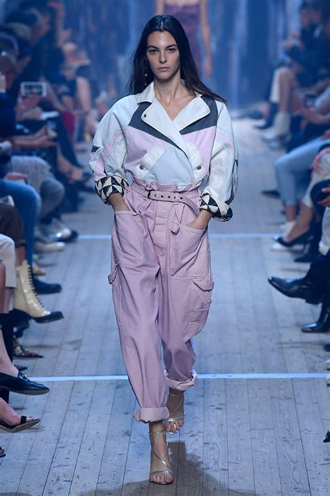 pfw isabel marant spring  ready  wear collection