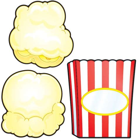 popcorn writing paper popcorn border writing paper cliparts co